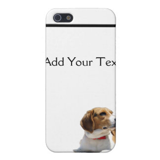 Black Brown and White Beagle Dog iPhone SE/5/5s Cover