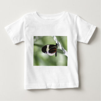 Black Brown and White Butterfly Infant T-shirt