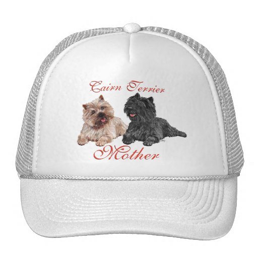 Black & Brown Cairn Terriers Mothers Day Trucker Hat
