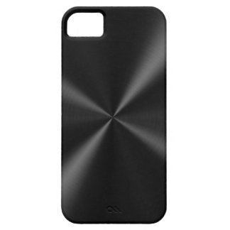 Black Brushed Metal iPhone SE/5/5s Case