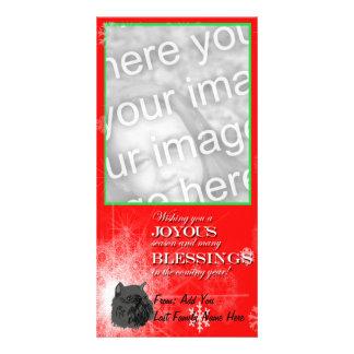 Black Brussels Griffon Card
