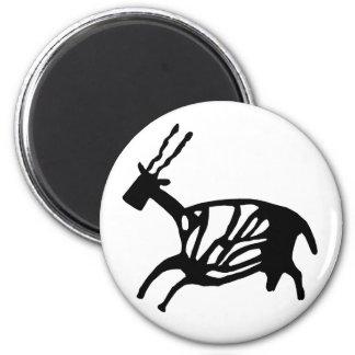 Black Buck Magnet Fridge Magnets