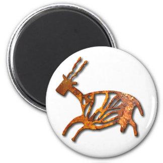 Black Buck - rust Magnets
