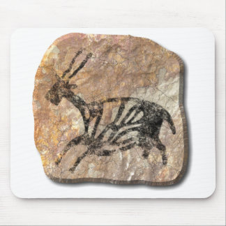 Black Buck - stone Mouse Pad