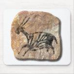 Black Buck - stone Mousepad
