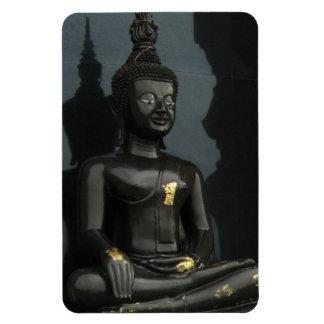 Black Buddha ... Nong Khai, Isaan, Thailand Magnet