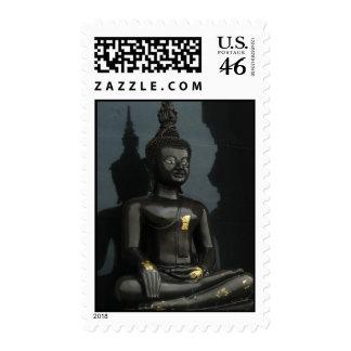 Black Buddha ... Nong Khai, Isaan, Thailand Stamps