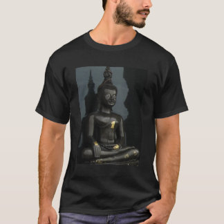 Black Buddha ... Nong Khai, Isaan, Thailand T-Shirt
