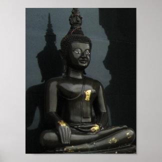 Black Buddha ... Thaïlande Poster