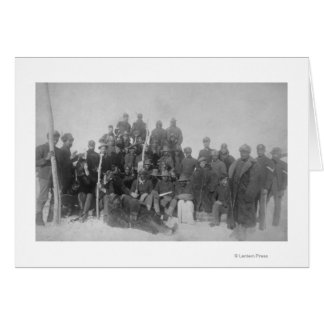 """Black """"Buffalo Soldiers"""" of the 25th Infantry Card"""