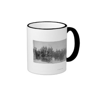"""Black """"Buffalo Soldiers"""" of the 25th Infantry Ringer Mug"""