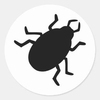 black bug stickers