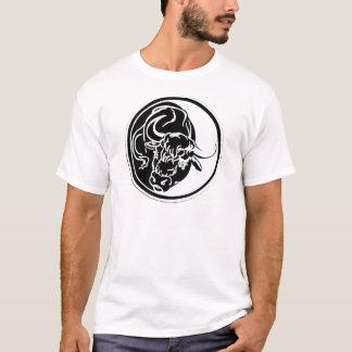 Black Bull Illustration T-Shirt