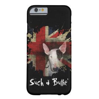 Black Bull Terrier Union Jack iPhone 6/6s Case