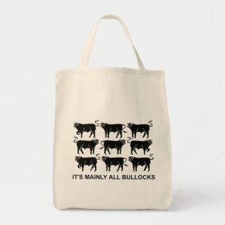 BLACK BULLOCKS (BAG)