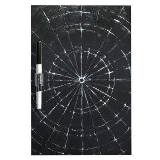 Black Bull's Eye (black minimalism) Dry-Erase Boards