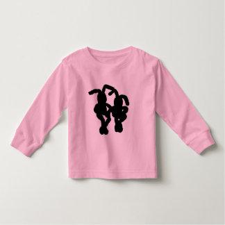 """""""Black Bunnies"""" Toddler T-shirt"""