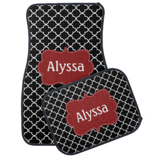 Burgundy Car Floor Mats Zazzle