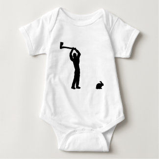 black butcher icon baby bodysuit