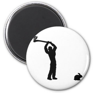 black butcher icon fridge magnets
