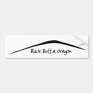 Black Butte Bumper Sticker
