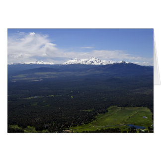 Black Butte Ranch & Three Sisters Card
