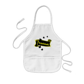 Black Butterfly and Fidelidad Kids' Apron