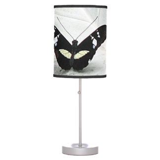 Black Butterfly - Caladium Table Lamp