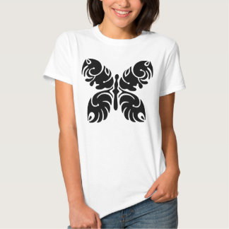 black butterfly camisas