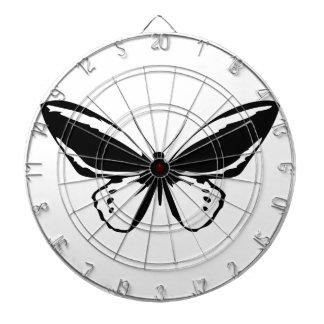 Black Butterfly Dart Boards