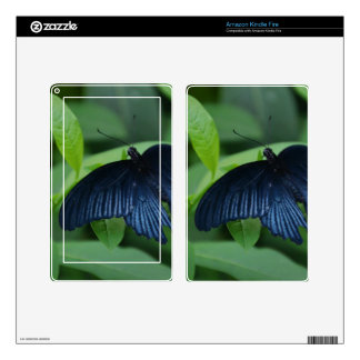 Black Butterfly Decals For Kindle Fire
