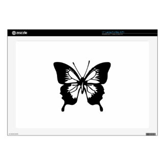 Black Butterfly Decals For Laptops