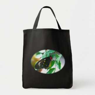Black Butterfly Nature Photography Tote Bag