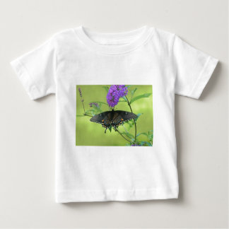 Black Butterfly Templete Items Baby T-Shirt