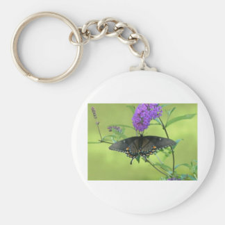 Black Butterfly Templete Items Keychain