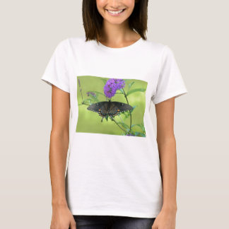 Black Butterfly Templete Items T-Shirt