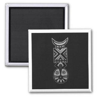 Black Bwa African Masks 2_Art Gift Fridge Magnets