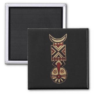 Black Bwa African Masks_Art Gift Fridge Magnets