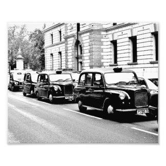 Black Cabs London Photo Print