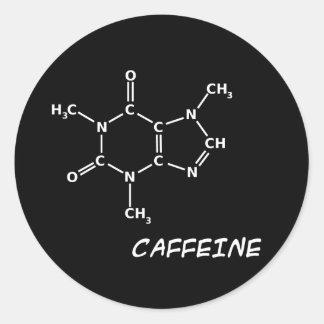Black Caffeine Sticker