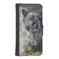 iPhone 5/5s Wallet Case with Cairn Terrier Phone Cases design