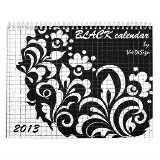 BLACK calendar, Calendar