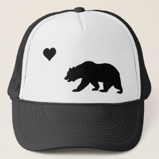 Black California Love Trucker Hat