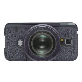 Black camera galaxy s5 cover
