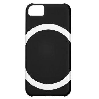 black camera icon case for iPhone 5C