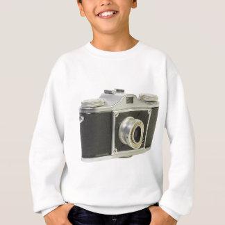 Black camera sweatshirt