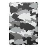 Black Camo Bass Fishing iPad Mini Covers