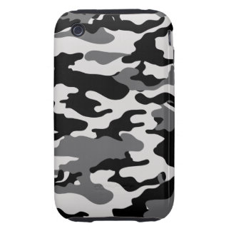 BLACK CAMO - Case-Mate Case Tough iPhone 3 Cover
