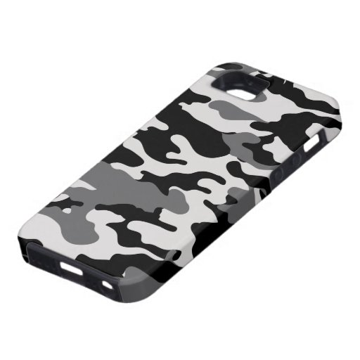 Black Camo - Case-Mate Case for iPhone5 iPhone 5 Cover