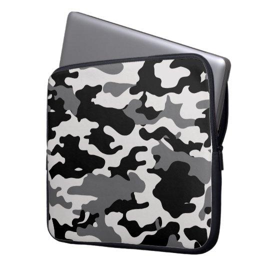 BLACK CAMO - Electronics Bag